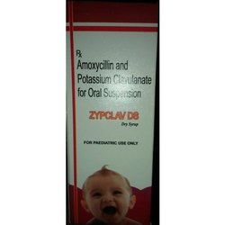 Amoxycillin And Potassium Clavulanate For Oral Suspension Dry Syrup