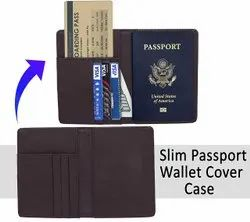 Cover Style Black Passport Holder, For Personal