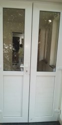 Single UPVC Doors