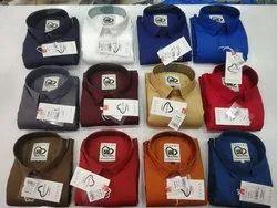 Full Sleeves Plain Shirts, Size: M L Xl
