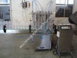 Six Head Volumetric Liquid Filling Machine