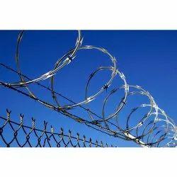 Cross Razor Fencing Wire