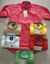 Mens Cotton Shirt(Kurta Style)