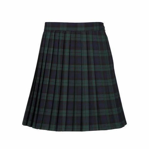 fb969d1458 Checked Cotton Girls School Skirt, Rs 300 /piece, VGP Garments   ID ...