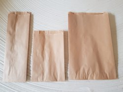 Imported Kraft Paper Biodegradable Grocery Bags