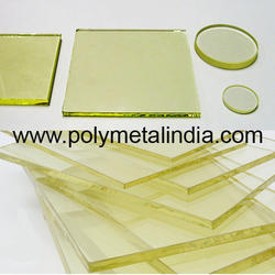 polylead Lead Glass X Ray Radiation Protection, Model: P.4453, Packaging Size: 1ft X 1ft