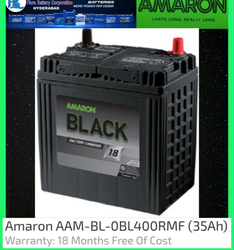 AAM-BL-OBL400RMF Amaron Car Battery