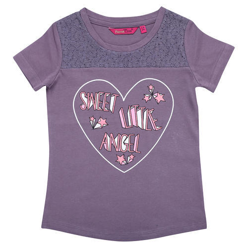 29b8f8c2bf Parrot Crow Printed Girls Fancy T-Shirt, Rs 159 /piece, Meenaakshi ...