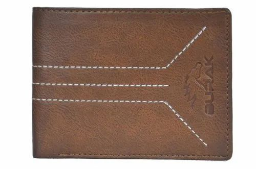 7d7d59a13229f Black And Brown Ten Mens Pure Leather Wallet