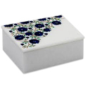 Handcraft Marble Inlay Jewelry Box
