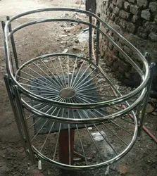 Stainless Steel Tea Table