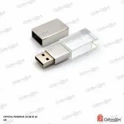 Giftmart 16 to 32GB Crystal Pendrive