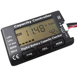 Capacity controller Battery Checker, for Aeromodelling