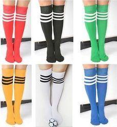 Terry Rayon Both School Socks