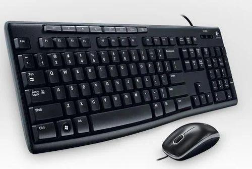 Logitech Mk200 Combo Keyboard And Mouse