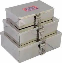 Jayco Stainless Steel Pooja Box