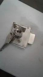 Pairaaj Stainless Steel Drawer Locks, Chrome, Packaging Size: 30 - 50