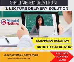 Videos Conferencing Linux Online Lecture Delivery And Education Solution, Teaching