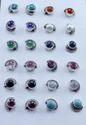 Pearl Gemstone Handmade Jewelry 925 Silver Stud Earring