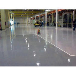1000 Sq Ft Industrial Building PU Flooring Service