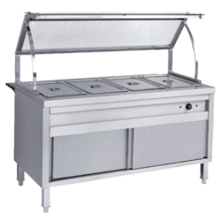 Commercial Bain Marie Service Counter