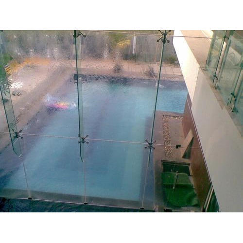 Glass Outdoor Backyard Swimming Pool for Residential, Depth: 2-4 feet