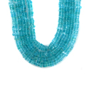 Apatite Smooth Heishi Cut Square Beads