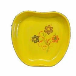Melamine Apple Shape Plate