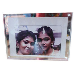 Rectangle Magnetic Crystal Photo Frame