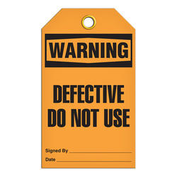 Warning Tags