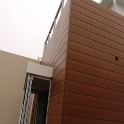 Exterior Wall HPL Cladding