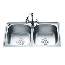 AMC SS Double Bowl Sink