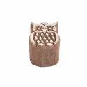 Owl Shape Wooden Henna Printing