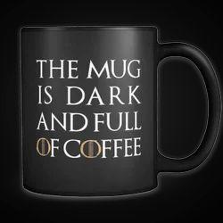 Black Printed Coffee Mug, Shape: Round, For Home, Office