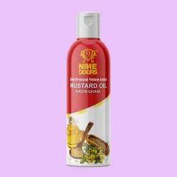 Nine Doors Cold Pressed Yellow Mustard Seed Oil-125ml, Packaging Type: Plastic Bottle