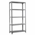Iron 4 Shelves Slotted Angle Racks