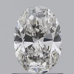 Oval Cut 1.00ct IGI Certified Diamond CVD G SI1 Lab Grown Type2A