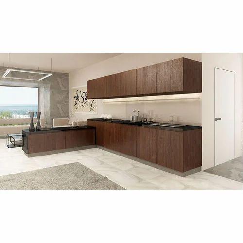 L Wooden Modular Kitchen Manufacturer: Manufacturer Of Wooden Modular Kitchen & Modular Kitchen