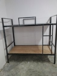 kanak iron double story hostel bed, Warranty: 1 Year, Size: 6ft X 2 Ft X 6ft