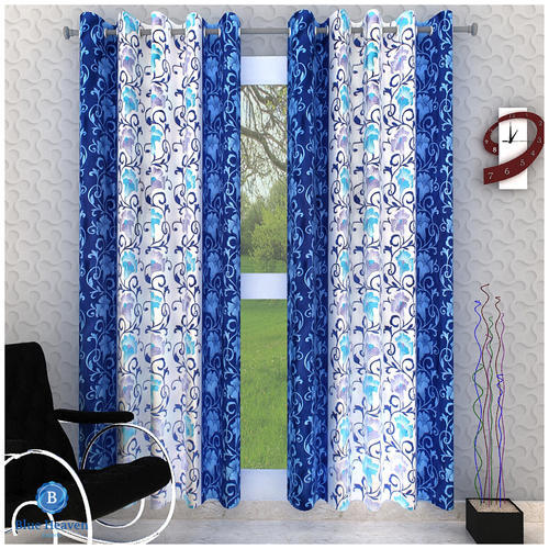 Image result for blue printed curtains