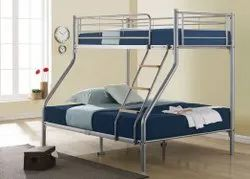 WICKER HUB Powder Coated METAL BUNK BED, For Hostel
