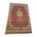 Multicolor Majestic Kashmiri Silk Carpet
