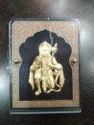 Hanuman Ji Gold Leaf Frame 24 Kt