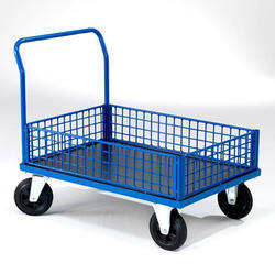 hand trolley material handling trolley stackers movers india