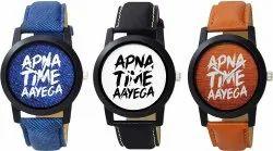 Apna Time Aayega Printed Analog Watch