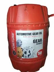 Cars, Heavy Vehicle Fortune Automotive Gear Oil, Grade: 80w90, 85w140 Available, Packaging Type: Bucket
