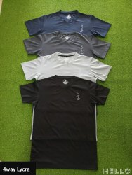 Round Male Mens Lycra T Shirt, Size: M L XL XXL