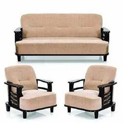 Wooden Arm Sofa