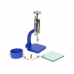 Vicat Needle Apparatus With Dashpot