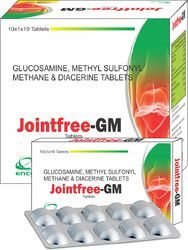 Glucosamine Methyl Sulfonyl Methane & Diacerine Tablets